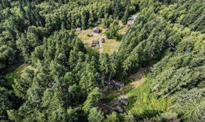 aerial photo of heartland campus